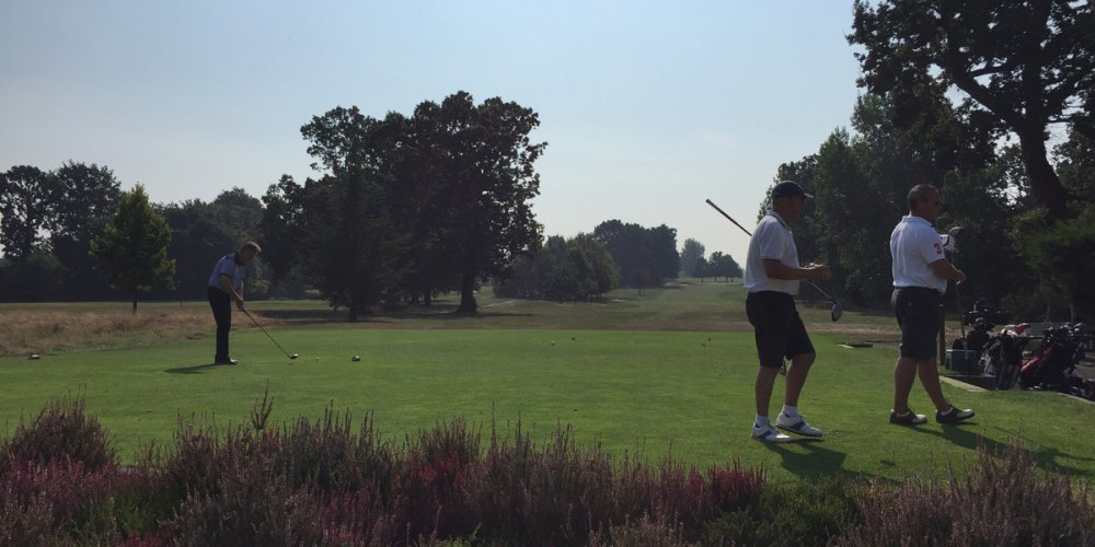 Project Leaders Charity Golf Day at Shirley Park Golf Club Croydon